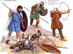 achaemenid persians uniforms - Google Search