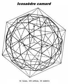 Icosaèdre camard