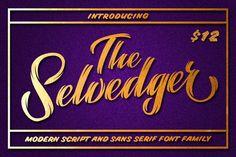 The Selvedger • Font Family by Pavel Korzhenko on Creative Market