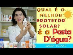 PROTETOR SOLAR CASEIRO de Pasta D'água? Escolha o melhor Protetor Solar para a sua Pele! - YouTube