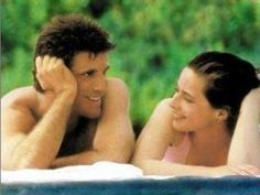 Ted Danson and Isabella Rossellini in Cousins. 1989