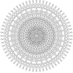 """Moon Heart"" - a beautiful free mandala coloring page you can print at home. Share with your coloring friends! https://mondaymandala.com/m/moon-heart?utm_campaign=sendible-all&utm_medium=social&utm_source=sendible&utm_content=moon-heart"