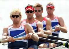 Gregory, Reed, James, Triggs & Hodge - Gold Medal Men's Four Rowing