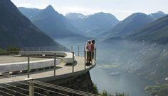 Viewpoint Geirangerfjord - Photo: C.H./Innovation Norway #fjordnorway #visitnorway