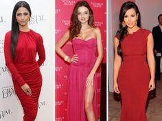 Červené šaty.