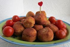 Polpettine di scamorza Antipasto, Buffet, Finger Food, Potatoes, Vegetables, Buffets, Potato, Veggies, Appetizer