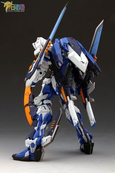 MG Gundam Astray Blue Frame Type - Customized Build Modeled by 模灵 Gundam Wing, Gundam Art, Battle Robots, Armored Core, Gundam Astray, Gundam Mobile Suit, Cool Robots, Gundam Seed, Robot Concept Art