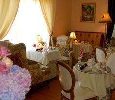 Afternoon Tea at Rose Tree Cottage in Pasadena, CA