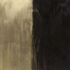 Black and Gold No. 2. Pat Steir (2009)