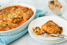 Gluten Free - Spinach and Zucchini Lasagna - Primavera Kitchen