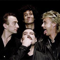 mr. fahrenheit — Queen members recreating the 'Bohemian Rhapsody'...