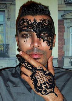 Sulliman Nuwid || mask paint