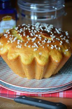 Le Pastis Landais (brioche parfumée au rhum, à la vanille et à la fleur d'oranger)