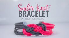 Make this super easy Sailor Knot Bracelet for Valentine's Day! Perfect for any teen, girlfriend, or mom! Make this super easy Sailor Knot Bracelet for Valentine's Day! Perfect for any teen, girlfriend, or mom! Sailor Knot Bracelet, Bracelet Knots, Paracord Bracelets, Paracord Belt, Do It Yourself Fashion, Parachute Cord, Paracord Projects, Paracord Ideas, Homemade Jewelry