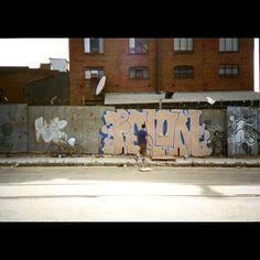 daveschubertsf  FELON 1996 #sanfrancisco #graffiti #bucketpaint #dayspot #airjordans #ilovesundays #35mm #film #documentary #photography #daveschubert Documentary Photography, 35mm Film, Documentaries, Graffiti, Air Jordans, San Francisco, Photo Wall, Frame, Painting