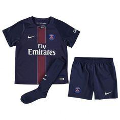 9f59815f8b7d4 Maillot PSG Enfant 2016-2017 Domicile Mon Cheri, Football Shirts, Soccer  Jerseys,