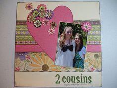 2 cousins - Scrapbook.com