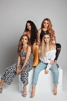 58 Little Mix British Girl Music Group Poster Black White Photo The X Factor