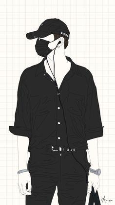 me lembrou o Suga Boys Wallpaper, Cartoon Wallpaper, Chibi Bts, Cover Wattpad, Anime Boy Zeichnung, Foto Top, Anime Art, Manga Anime, Bts Drawings