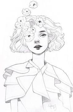 Pink Eye , an art print by Kelsey Beckett - INPRNT