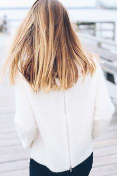 PAIGE Denim Liana Sweater in Custard
