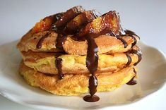 Mini pancakes all'arancia e cioccolato enerzona dieta zona ricette