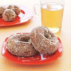 Apple Cider Doughnuts | MyRecipes.com