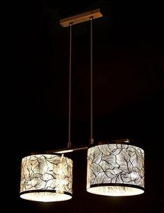 Lustra, Pendul gravat, cromat, diam.50cm, Brilannte 132/2 LP, Corpuri de iluminat, lustre, aplice