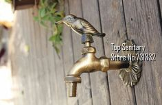 Torneiras ao ar livre decorativas TB9034 fixado na parede de bronze animais jardim Bibcock com estilo rural antigo bronze pássaro torneira em Torneiras Esfera de Casa & jardim no AliExpress.com | Alibaba Group