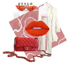 """""""💄"""" by minaoguz on Polyvore featuring moda, Alexandre Vauthier, Brandon Maxwell, Lime Crime ve Chanel"""
