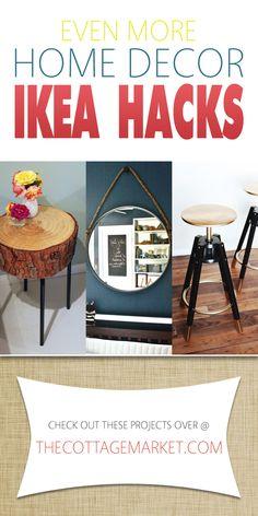 Even More Home Decor Ikea Hacks! - The Cottage Market
