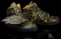 "adidas Originals JS Wings ""˜Camoflauge'  : http://www.kicksonfire.com/2011/07/18/adidas-originals-js-wings-%E2%80%98camoflauge%E2%80%99-new-images/"
