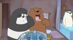 "CLIP: Cartoon Network Premieres for July ""We Bare Bears,"" ""Teen Titans Go!"" and More - Anime Superhero News Cute Panda Wallpaper, Bear Wallpaper, Cartoon Wallpaper, We Bare Bears Wallpapers, Panda Wallpapers, Cartoon Network, Cartoon Cartoon, Battle Bears, We Bear"