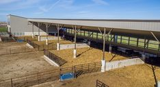 This livestock facility was built for Smith Cattle Co. of Estherville, IA  Special Features:    Morton's Hi-Rib Steel  Cupolas  Eyebrow  Wainscot  Mor...