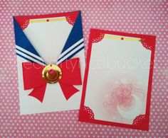 Sailor Senshi Pocket Card - Sailor Moon by TheCraftyRicebucket on Etsy https://www.etsy.com/listing/246364265/sailor-senshi-pocket-card-sailor-moon