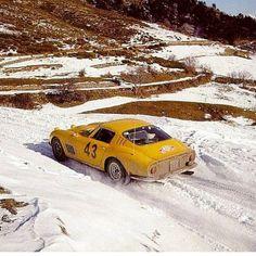 "1,560 Likes, 4 Comments - FERRARI SPIRIT ! (@ferrari.lovers) on Instagram: ""Ferrari 275 GTB /4, s/n 6003 at Montecarlo Rally 1966. @motoringtitude #montecarlorally #275gtb4"""