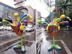 Call Parade: 100 Phone Booths Given to 100 Artists on the Streets of São Paulo
