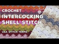 Interlocking Shells tutorial Hooked by Robin.