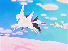 "Pegasus family, Walt Disney's ""Fantasia,"" 1940"