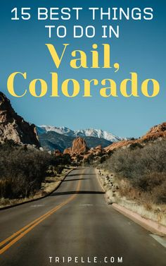 #Vail, #Colorado is the home of the amazing Vail #Ski Resort, making it one of the premier #destinations for winter activities like skiing and #snowboarding. This article will help you plan your visit with detailed information, and plenty of suggestions so you will know exactly what you want to do. The mountains make a great staging area for all different kinds of #summer and #winter activities. Keep reading to learn all about the endless fun and adventure you can have in Vail, Colorado. Betty Ford Alpine Gardens, Vail Ski Resort, Stuff To Do, Things To Do, Travel Magazines, World's Most Beautiful, Winter Activities, Travel Information, Travel Usa