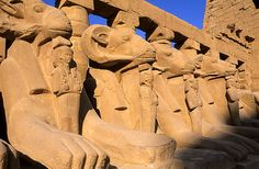 Egypt, Nile Valley, Luxor, Karnak Temple