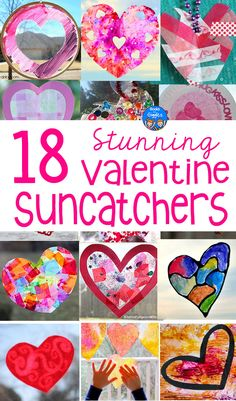 Valentine Suncatcher Crafts for Kids Suncatchers make a beautiful Valentine craft for kids to make! Here are 18 ideas – and each one uses different methods and materials! Toddler Valentine Crafts, Kinder Valentines, Valentines Day Activities, Homemade Valentines, Christmas Activities, Valentines Art For Kids, Valentine's Day Crafts For Kids, Craft Activities For Kids, Preschool Crafts