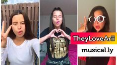 Top 100 TheyLoveArii Musical.lys of June 2016 | The Best Musical.ly Comp...