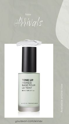 Make a lasting impression with AVON's Tone-Up Primer. Up your makeup game with this hydrating primer with color-correcting toner. Hydrating Primer, Magic Hair, Cosmetic Design, Promotional Design, Uneven Skin, Tone It Up, Color Correction, Diy Beauty, Jelsa