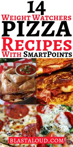 14 Delicious weight watchers pizza recipes with smartpoints you can eat on the weight watchers diet, including yummy zero point pizzas. Make the perfect Friday night weight watchers dinner with these healthy pizza recipes! Weight Watchers Pizza, Weight Watchers Smart Points, Weight Watcher Dinners, Weight Watchers Desserts, Healthy Pizza Recipes, Healthy Food List, Healthy Eating Recipes, Ww Recipes, Health Recipes