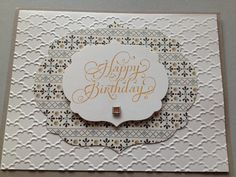 Thank You Stampin' Up card made to order FREE SHIPPING by bduwe, $2.00