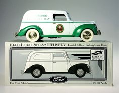 Liberty Die Cast Bank 1940 Ford Sedan by WeStartedWithAMouse Bank Branding, Pennies From Heaven, Founders Day, See Photo, Diecast, Liberty, Ford, Van, Delivery