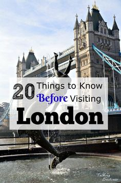 Are you visiting the UK for the first time? Be prepared with these 20 things to know before visiting London. It quickly became one of our favorite cities!