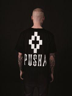 Marcelo Burlon x Pusha T Limited Edition - Pusha B.