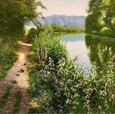 David Smith, Country Roads, Landscape